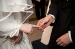 Jewish Wedding Putting On Ring