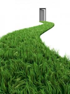 Grass Door