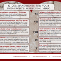 10 Commandments for Non Profit Marketing Video
