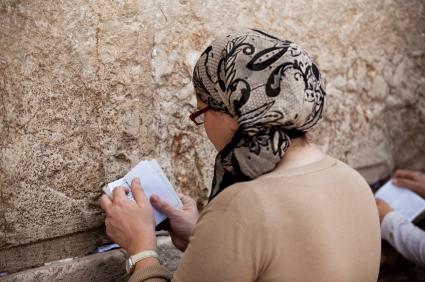 Women Praying at The Kosel