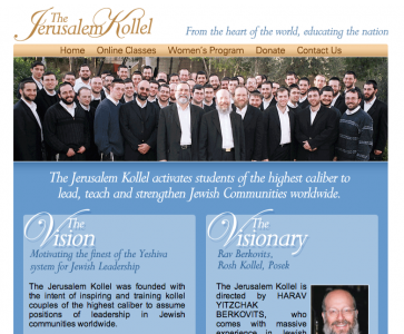 The Jerusalem Kollel