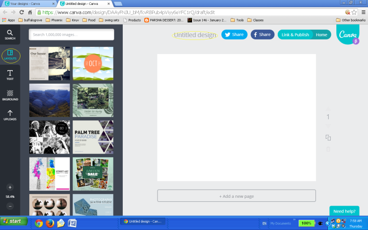 Step 2 Canva